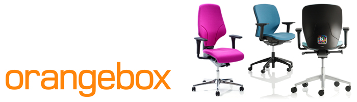 Orangebox Office Seating for the workplace