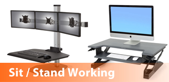 View our range of Sit Stand Desking
