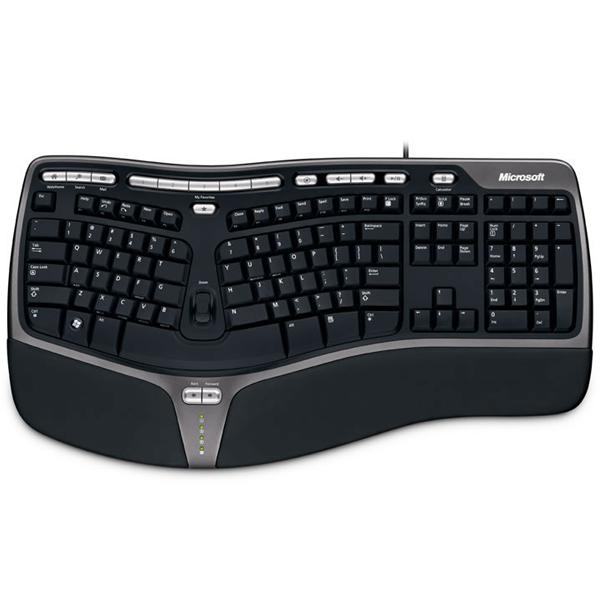 368fbe5696b Microsoft Natural Multimedia Ergo Keyboard 4000 (USB) | Bennett ...