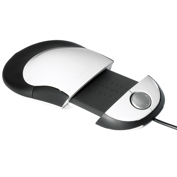 Extended Humanscale ergonomic switch mouse