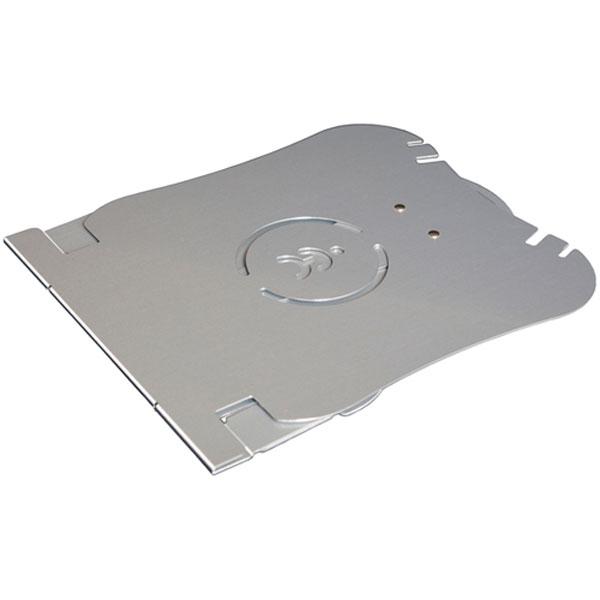 U Top ultra lightweight laptop riser flattened for travel