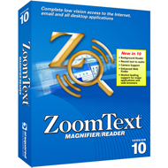 Zoomtext Magnifier Reader v10 USB Edition
