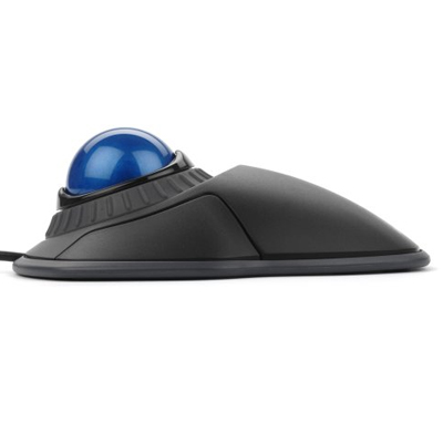 side view of Kensington optical trackball mouse