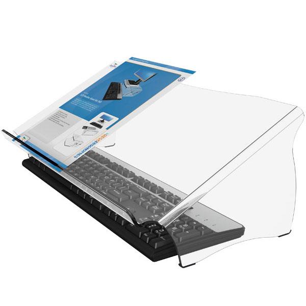 ErgoDoc Basic Document holder with keyboard underneath