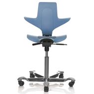 HAG Capisco Puls 8010 Chair Black Wafer Vinyl