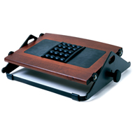 Humanscale Foot Machine (Footrest) - Dark Cherry