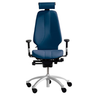 RH Logic 400 High Back Posture Chair with Lumbar in Black