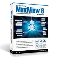 MindView 6 (PC) Mind Mapping Software - Single User Licence