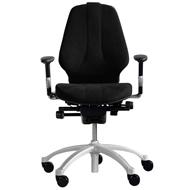 RH Logic 300 Posture Chair with Lumbar Pump - Black