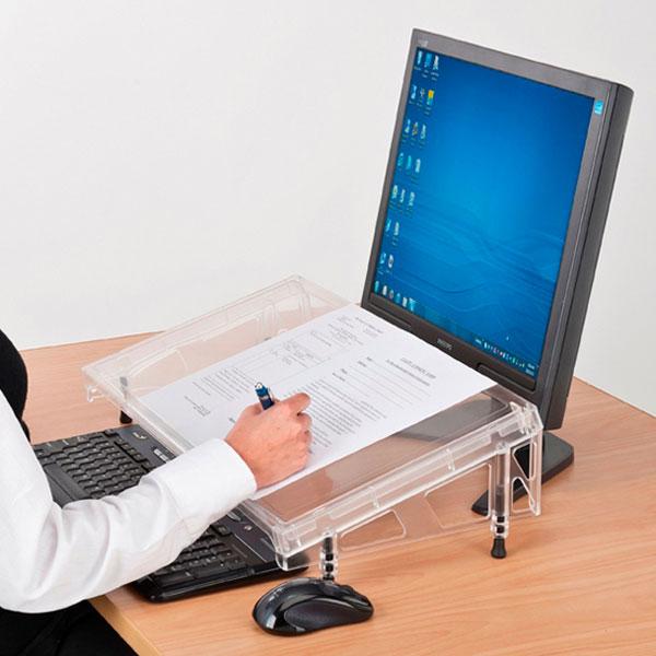 Microdesk Document Holder And Writing Slope Regular