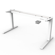 Humanscale Float Height Adjustable Frame Only - White
