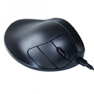 HandShoe Mouse - Wired Large - Right Hand - Black