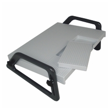 Relax footrest removable insert for dictation pedal
