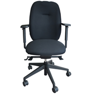 Embrace Posture Chair Medium Seat and Back - Black
