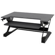 Ergotron Workfit-TL Premium Sit-Stand Desktop- Black