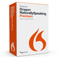 Dragon Naturally Speaking Premium 13.0 Boxed
