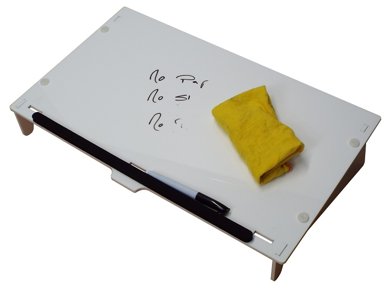 Paperless Copywriter Document Holder and Writing Slope