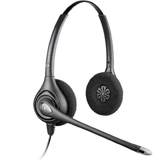 Plantronics SupraPlus Wideband Binaural Headset HW261N