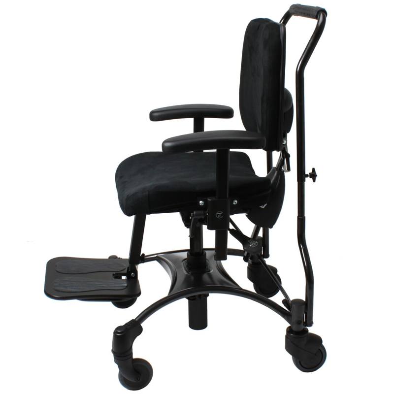 VELA Tango 100S Childrens chair with footrest and strolling bracket