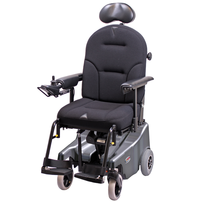 VELA Blues 100 Powerchair with swing away legrests and headrest