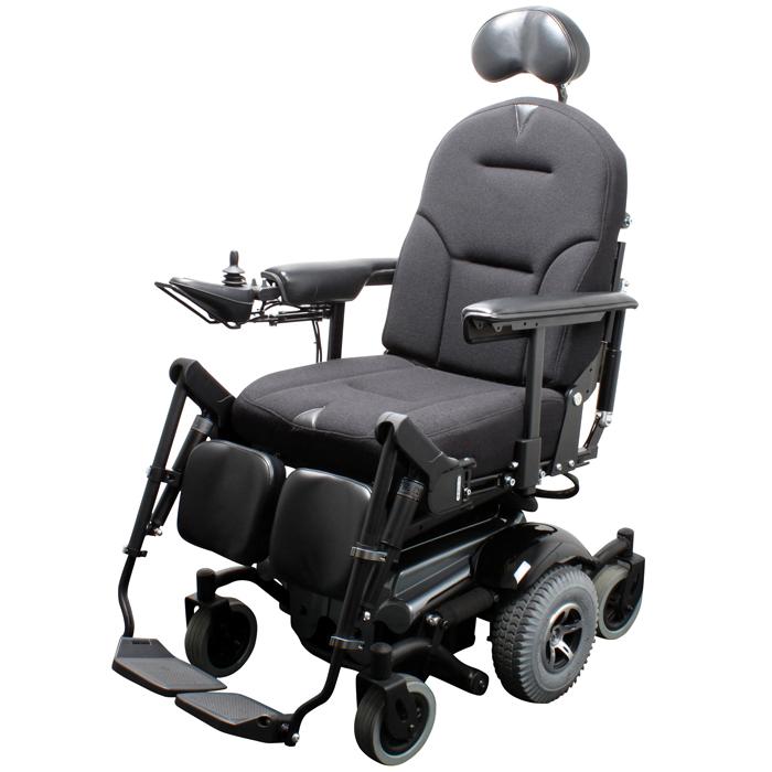 VELA Blues 210 Powerchair - Side View